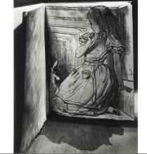 Abelardo Morell: The Pool of Tears, Signed Silver Gelatin Print, Framed - 1996