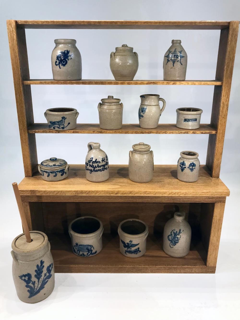 Carolyn Nygren Curran Pottery Dollhouse Miniatures