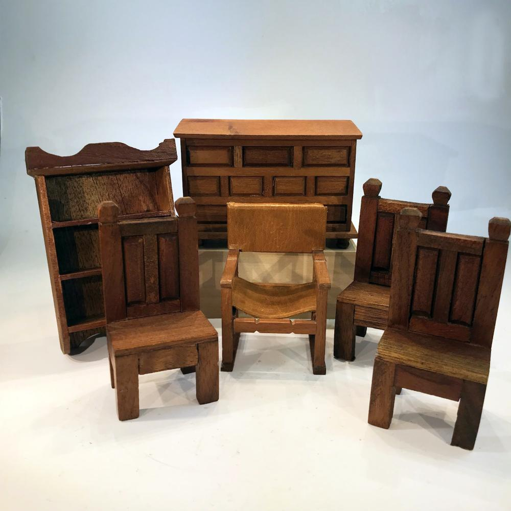 Southwestern Themed And Primitive Furniture Dollhouse Miniat