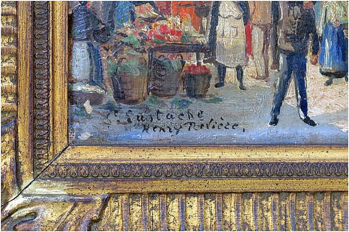 Rivi re henri 1864 1951 olieverfschilderij op doek gea for Domon furniture st eustache