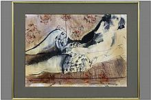 mixed media - signed and dated
