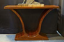 Art Deco-console/bracket in rose-wood