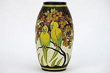 Art Deco-vase in marked 'Keramis' ceramic from 1932