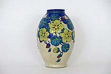 Art Deco-vase in ceramic by Boch