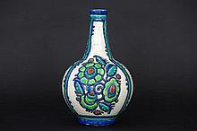 Art Deco-vases in marked 'Keramis' ceramic - signed