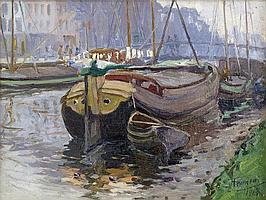 FERMEUSE VICTOR (1894 - 1963) impressionistisch