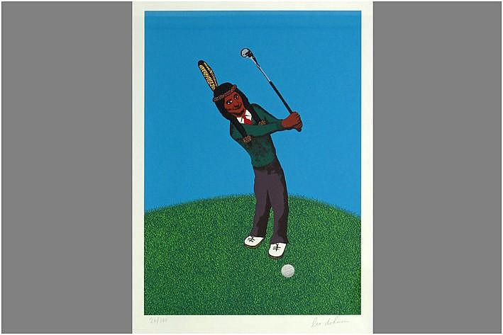 DOHMEN LEO (1929 - 1999) originele kleurlitho