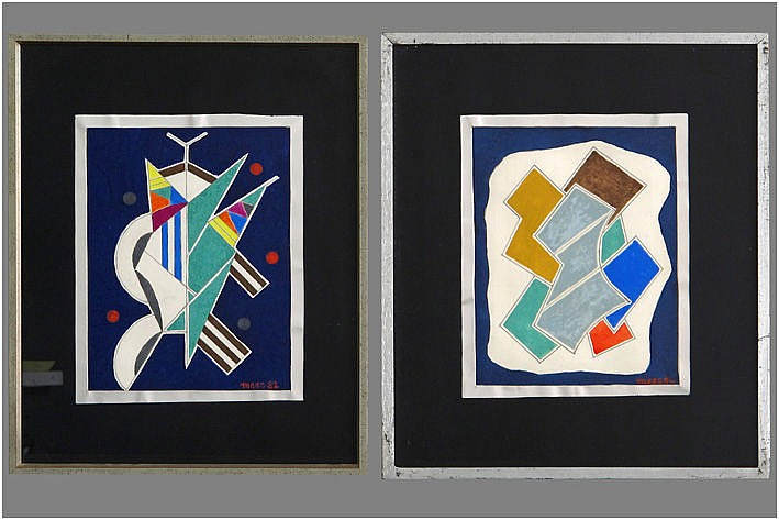 MEES JOZEF (1898 - 1987) twee (§) werken in