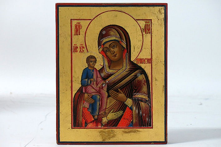 1st half 19th Cent. Russian well preserved icon