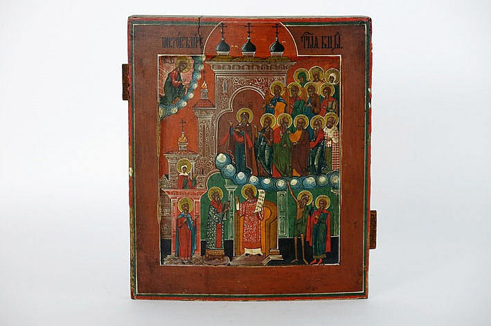 19th Cent. Russian icon - with certificate