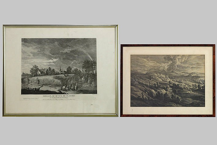 2 old engravings