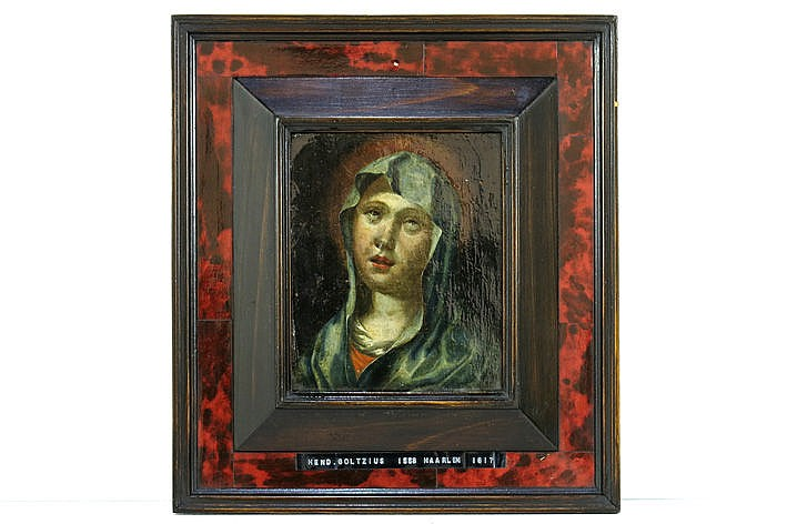 17th Cent. Flemish oil on copper