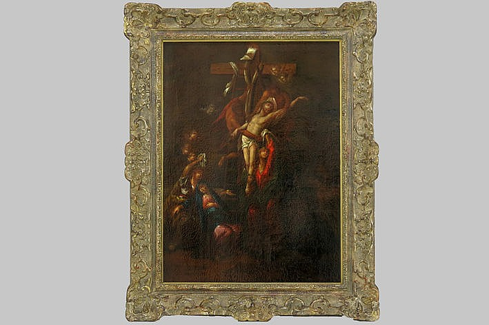 17th Cent. Flemish oil on canvas