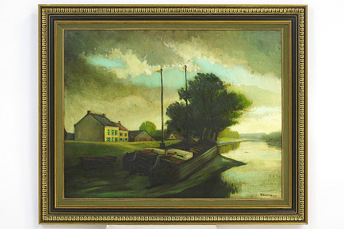 oil on canvas - signed and dated 1978