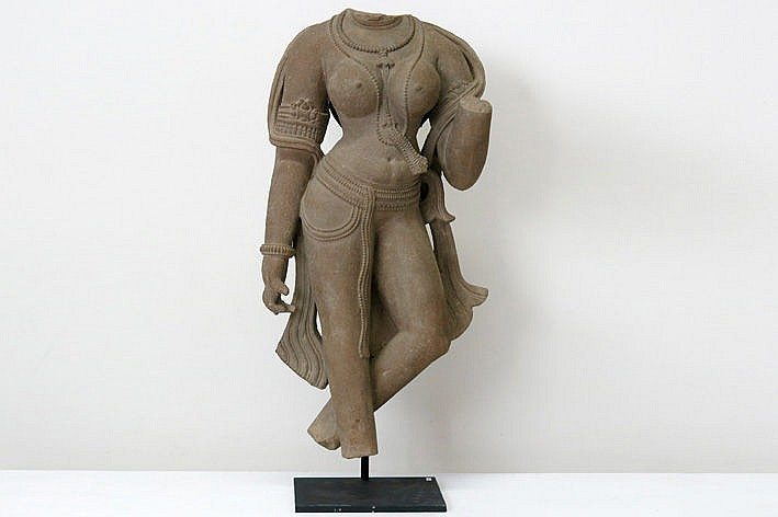 10th/11th Cent. Indian Chandella-period sculpture in sandstone