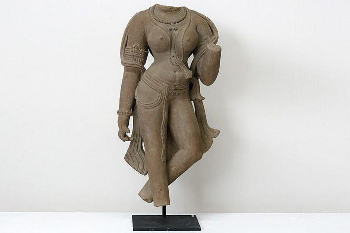 10th/11th Cent. Indian Chandella-period sculpture in sandstone