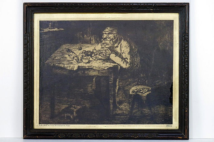 etching - signed