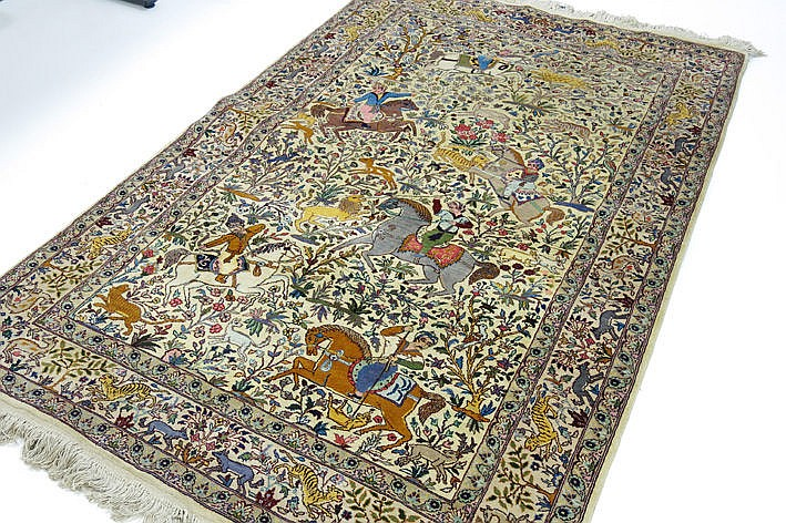 handknotted oriental carpet