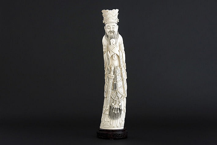 Chinese sculpture in ivory