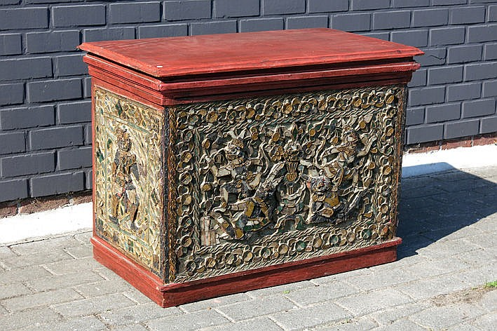 old chest from Thailand