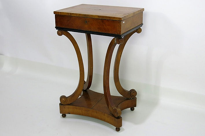 probably Russian Biedermeier sewing-table - ca. 1800/20