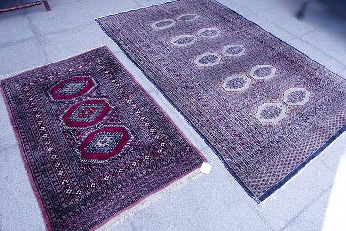 set of two Oriental carpets