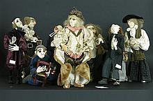 9 theater dolls