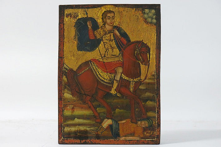18th Cent. Greek (or Lebanese) icon