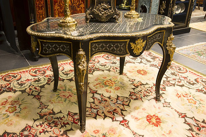 very nice 19th Cent. French Napoleon III table in