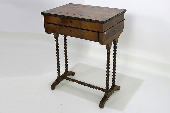 19th Century Louis Philippe sewingtable in mahogany