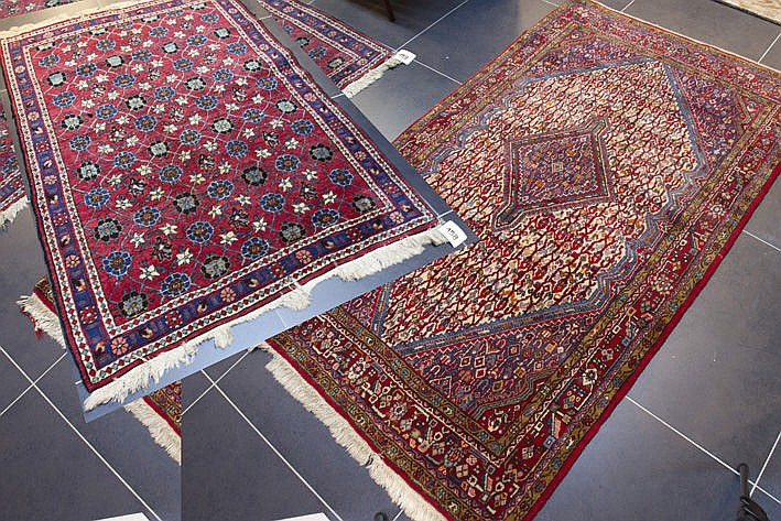 two Persian carpets : Veramin and Afshar