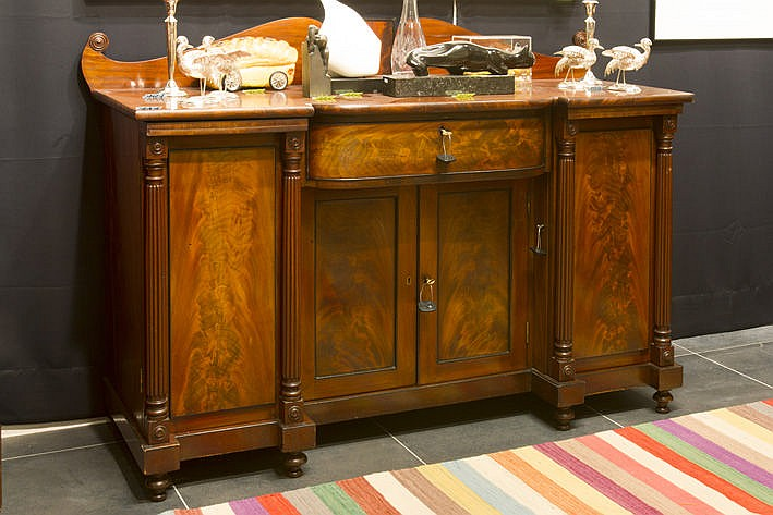 19th Century English William IV sideboard in mahogany