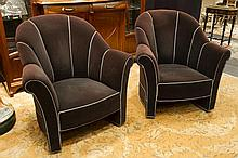 pair of (�) Wiener Sezession armchairs after a design by J. Hoffmann for the