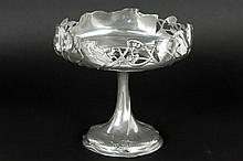 WMF Art Nouveau-tazza with a bowl on stand - marked