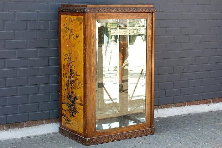 French Art Nouveau shop display-cabinet