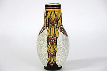 Art Deco-vase in marked and signed earthenware