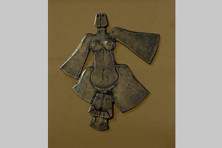 MINNEBO HUBERT (° BRUGGE 1940) kleine sculptuur i