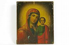 19th Cent. icon from Ukrian or Belarus