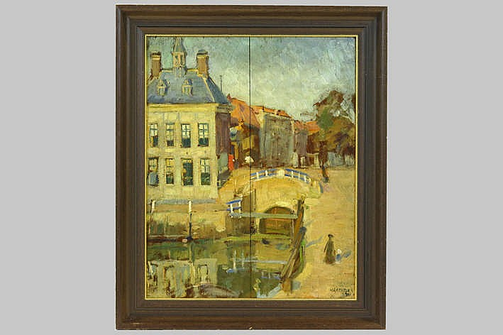 20th Cent. oil on panel - signed and dated