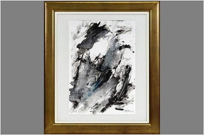 monotype (1/1) - signed and dated