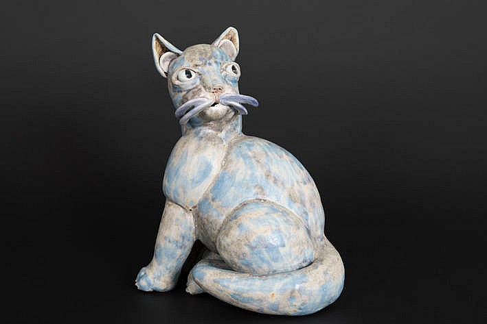 20th Cent. German sculpture in porcelain - signed