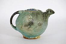 20th Cent. French ceramic tea pot - signed
