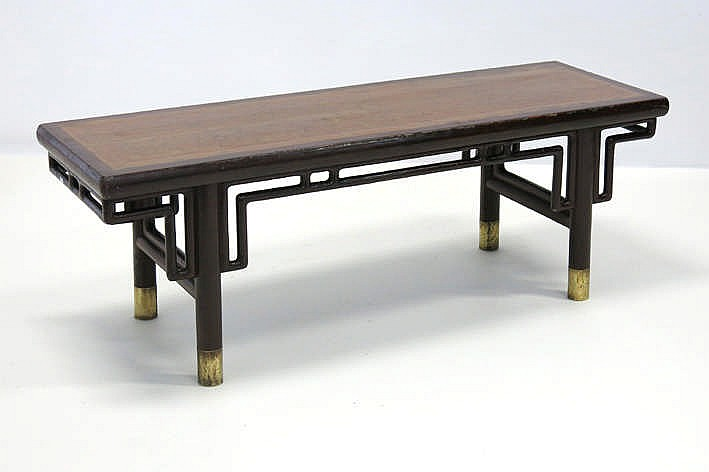 lot 173 antique japanese ceremonial table in an exotic kind of wood