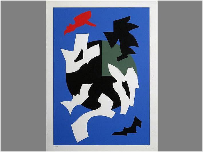 MEES JOZEF (1898 - 1987) kleurlitho genummerd