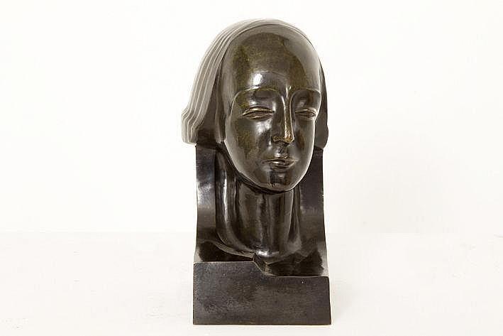ANTEUNIS JAN (1896 - 1973) sculptuur in brons met