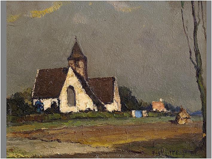 LIPPENS PIET (1890 - 1981) olieverfschilderij op