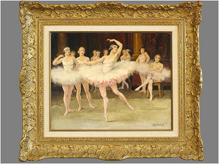 VAN RIET WILLY (1882 - 1927) olieverfschilderij op