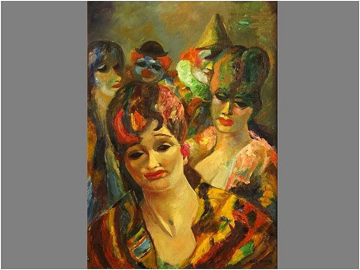 DE BUCK RAPHAËL (1902 - 1986) olieverfschilderij