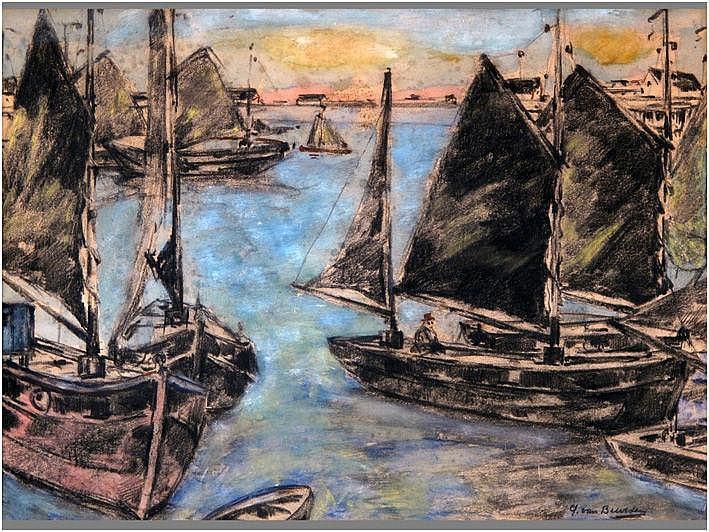 VAN BEURDEN ALFONS JR. (1878 - 1962) werk in