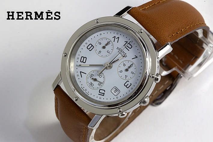 HERMÈS quartz chronograaf polshorloge - model